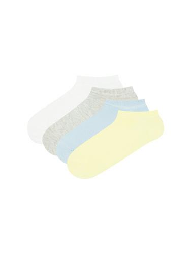 Penti Kadın Çok Renkli Classıc 4Lü Çorap Seti PHOWXR2B21IY Renkli